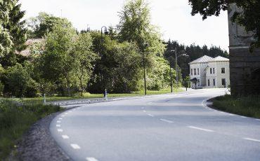 Väg genom Uddebo