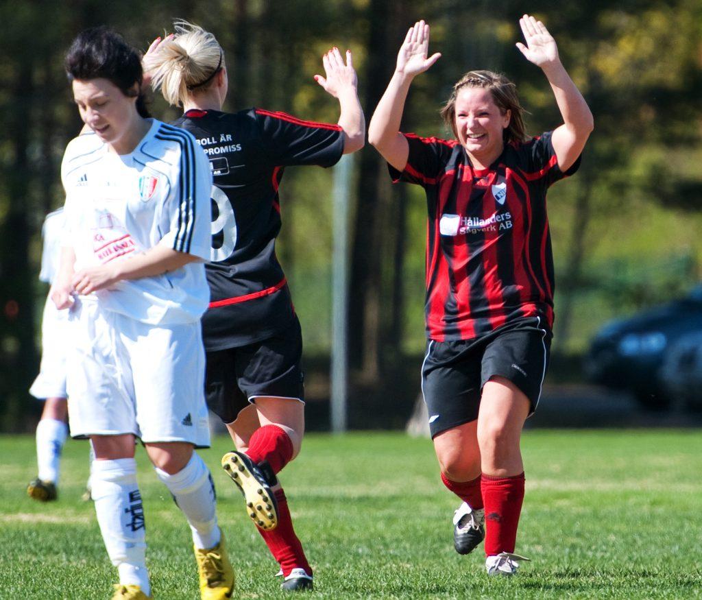 Fotbollsmatch i Nittorp