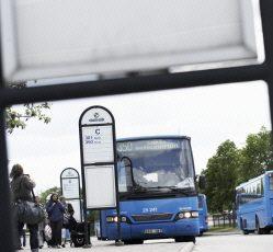 Busstorget i Tranemo