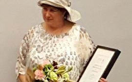 Catarihna Petersson tilldelas SydVästenpriset 2016
