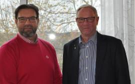 Crister Persson och Tony Hansen