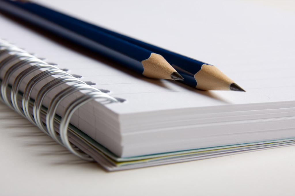 Bild på pennor