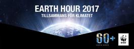 Earth hour 2017 - Tillsammans för klimatet