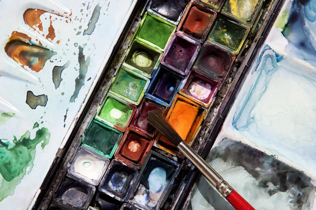 Akvarellfärg