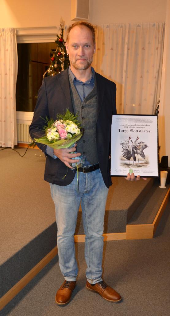 Årets kulturstipendie till Torpa Slottsteater