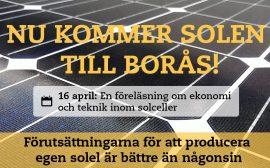 Föreläsning om solceller
