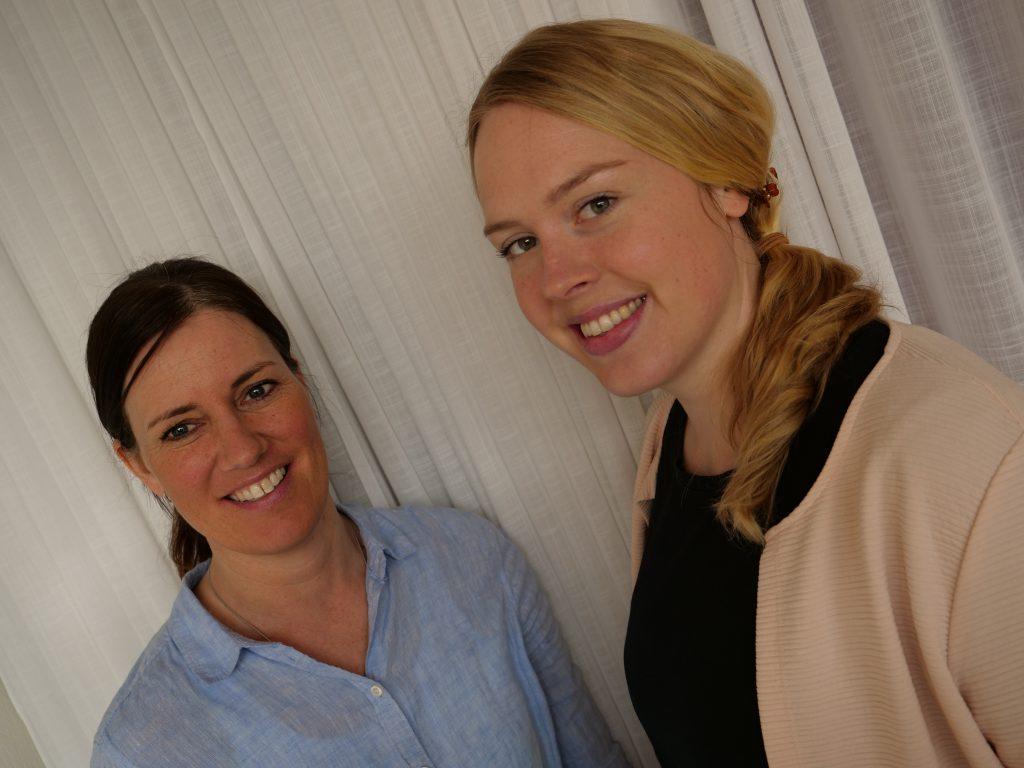 Susann Gustafson och Manda Schillerås