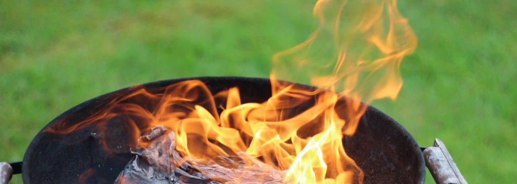 Öppen eld i grill