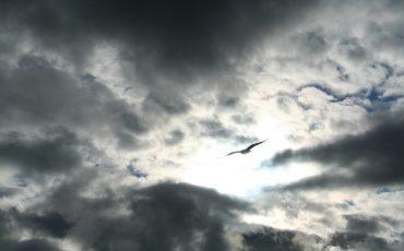 Storm på himlen