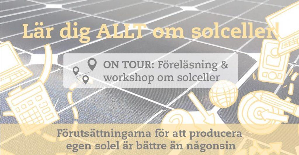 Inbjudan till föreläsning om solceller