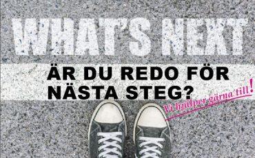 Är du redo för nästa steg? Skor som är påväg ut i vägen