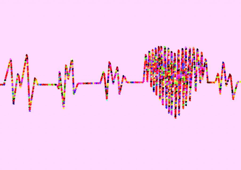 Pulserande hjärta