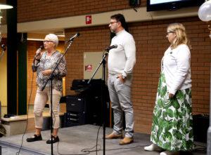 Rose Torkelsson, Tony Hansen och Marit Ekstener