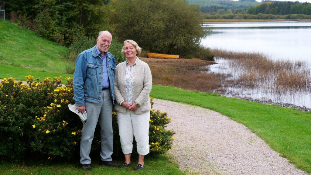 Caj Larsson och Ingela Karlsson