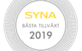Logotyp SYNA Bästa tillväxt