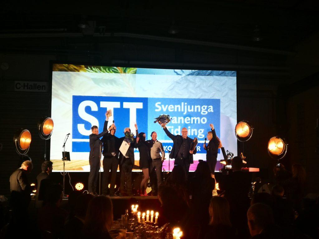 Åretsföretagare firas på scenen