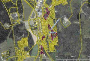 Karta med utpekade områden iLimmared