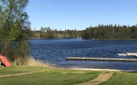 Badplatsen Ösjön i Limmared