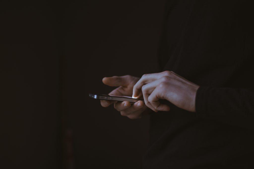 ringer på mobil