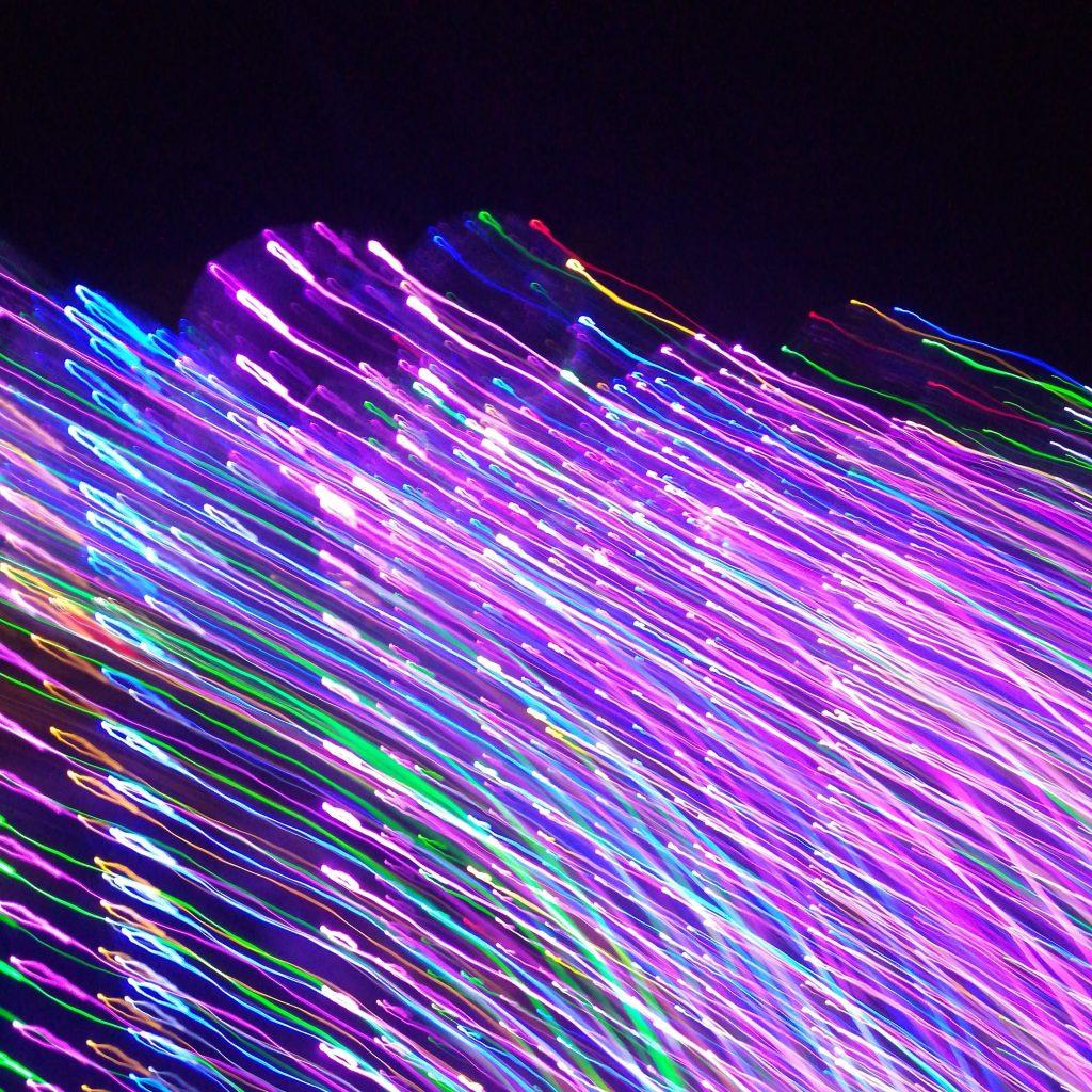 färgglada trådar