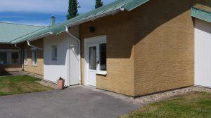 Ingång till familjecentralen i Tranemo