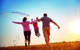 mamma, pappa och barn