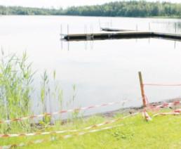 Ösjöns badplats Limmared