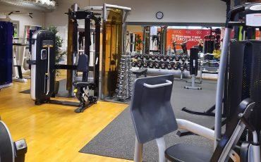 Gymmaskiner på Gym1 i Tranemo